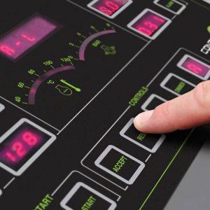 stampa e taglio UV LED tastiere a membrana