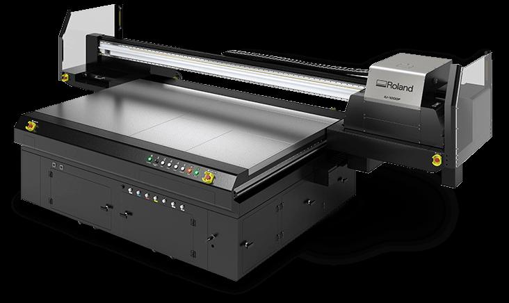 Plotter Roland stampa UV Led flatbed IU-1000