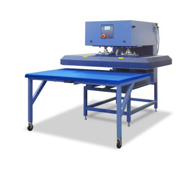 sistema per finissaggio calandra tm-120