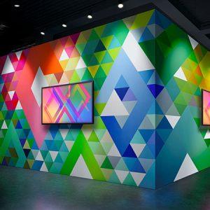 Stampa e taglio ecosolvente decorazione murale
