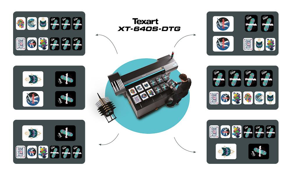 XT-640S plotter ink a base d'acqua stampa tessuti